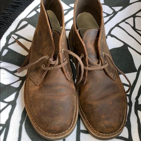 objetivo Interpersonal palanca  Clarks Shoes | Barely Worn Desert Boots Chestnut Brown | Poshmark